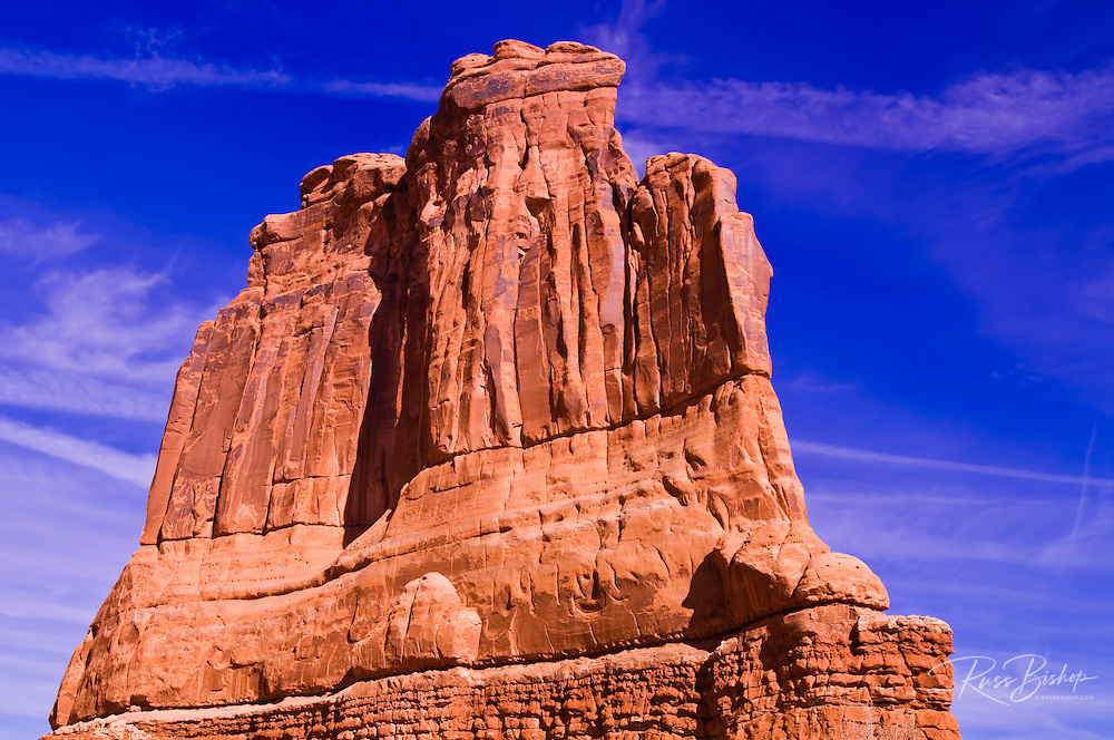 The Organ, Courthouse Towers, Arches National Park, Utah