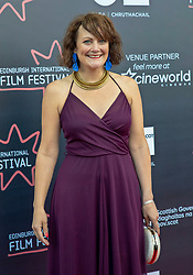 Premiere of Eaten by Lions directed by Jason Wingard at the Edinburgh International Film Festival<br /> <br /> Pictured: Hanna Stevenson, Producer