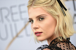 Lucy Boynton attends the 25th Annual Screen Actors Guild Awards at The Shrine Auditorium on January 27, 2019 in Los Angeles, CA, USA. ©Lionel Hahn/ABACAPRESS.COM