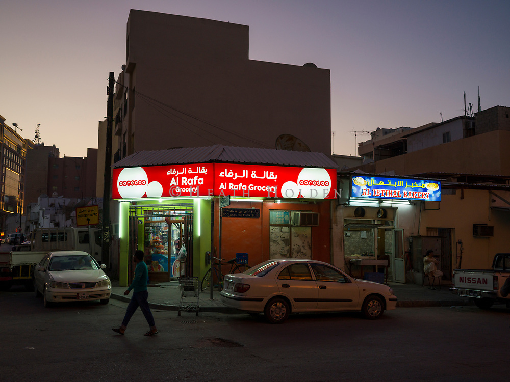 Atmospheric scenes of daily life from some of Doha's older neighbourhoods where the authentic Middle Eastern feel is still intact, for now.