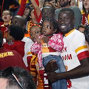 Galatasaray's Emmanuel Eboue during their Turkish Super League soccer match Galatasaray between Sivasspor at the AliSamiYen Spor Kompleksi TT Arena at Seyrantepe in Istanbul Turkey on Sunday 05 May 2013. Photo by TURKPIX