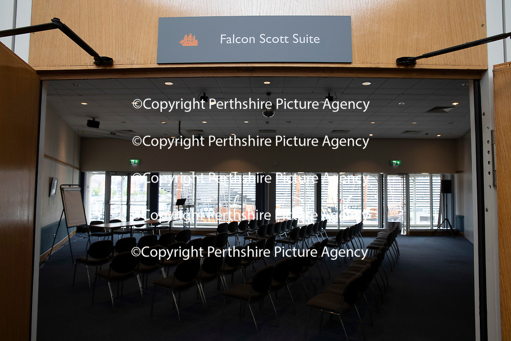 The newly re-furbished gallery and meeting rooms at Discovery Point, Dundee which was officially opening by Falcon Scott, Grandson of Captain Robert Falcon Scott….13.06.18<br />for further info please contact Gillian at Volpa on 07490 259009 or g.drummond@volpa.co.uk<br />Picture by Graeme Hart.<br />Copyright Perthshire Picture Agency<br />Tel: 01738 623350  Mobile: 07990 594431