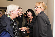 LOUISA BUCK, LYNN BARBER, JULIA ROYCE, SUE WEBSTER, Miss Sue Webster hosts the launch of her book <br /> 'I Was a Teenage Banshee' The Mole House , Dalston. 17 October 2019