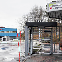 Elkem industriområde i Kristiansand.