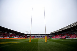 A general view of Parc y Scarlets ahead of Wales v England in the Autumn Nations Cup fixture - Mandatory by-line: Robbie Stephenson/JMP - 28/11/2020 - RUGBY - Parc y Scarlets - Swansea, Wales - Wales v England - Autumn Nations Cup