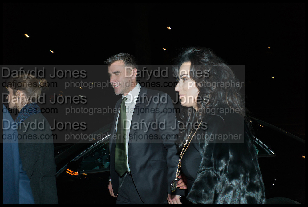 IVAN MASSOW; NANCY DELL D'OLIO, Conservative Party Black and White Ball fundraiser 2015, Grosvenor House. Park Lane, London. 9 February 2015