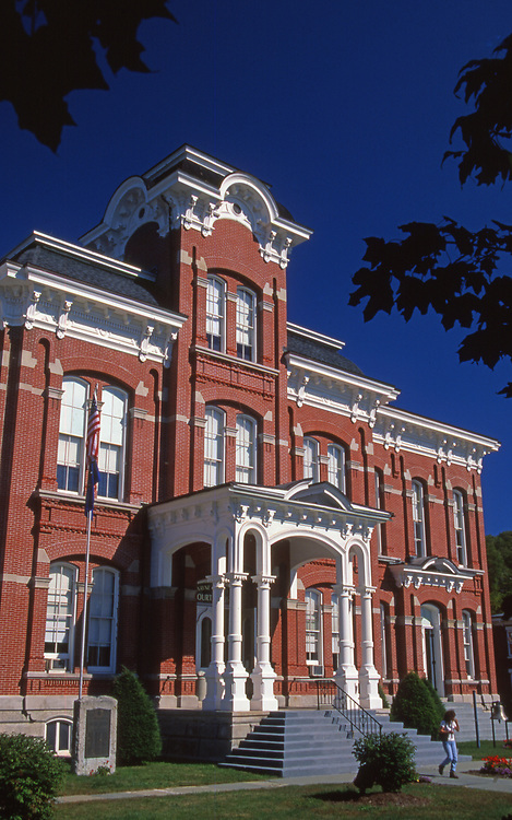 Historic Wayne County Courthouse, Honesdale, Northeast PA