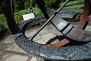 Herb Garden Sundial. Royal Botanic Gardens, Sydney, Australia