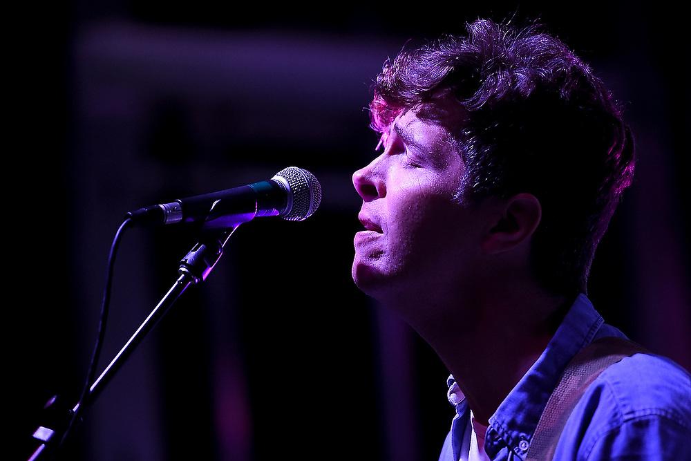 Matt Wertz performs in Auburn. <br /> Parachute and Matt Wertz in Auburn, Ala. on Saturday, Oct. 3, 2015.<br /> Zach Bland Photo