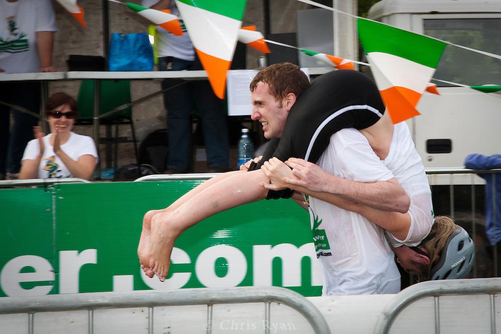 Irish Wife-Carrying Championship 2010, Sneem, County Kerry, Ireland