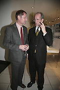 Andrew Motion and Sandy Nairne, Colman Getty's 20th Birthday party. The Imagination Gallery. Store St. London W1. 17 January 2006.  -DO NOT ARCHIVE-© Copyright Photograph by Dafydd Jones. 248 Clapham Rd. London SW9 0PZ. Tel 0207 820 0771. www.dafjones.com.