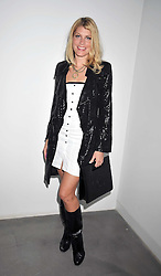 MEREDITH OSTROM at a private view of Liquid Modernity - aworks by artist Andrei Molodkin held at Orel Art UK, 7 Howick Place, London on 22nd April 2009.
