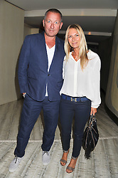 SEAN & JACQUI PERTWEE at a party to launch PRPS's new luxury denim line called Noir whilst raising money for UNICEF Japan, held at Nobu Berkeley Street, London on 5th September 2011.