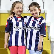 Kasimpasa's supporters during their Turkish superleague soccer match Kasimpasa between Kardemir Karabukspor at the Recep Tayyip erdogan stadium in Istanbul Turkey on Friday 24 August 2012. Photo by TURKPIX