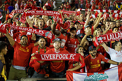 PASADENA, USA - Wednesday, July 27, 2016: Liverpool's supporters after the 1-0 defeat to Chelsea during the International Champions Cup 2016 game on day seven of the club's USA Pre-season Tour at the Rose Bowl. (Pic by David Rawcliffe/Propaganda)
