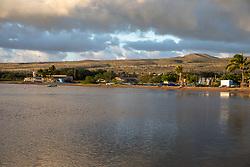 Molokai From Kaunakakai Pier