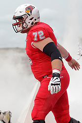 NORMAL, IL - September 08: Garrett Hirsch during 107th Mid-America Classic college football game between the ISU (Illinois State University) Redbirds and the Eastern Illinois Panthers on September 08 2018 at Hancock Stadium in Normal, IL. (Photo by Alan Look)