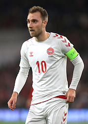 File photo dated 16-11-2018 of Denmark's Christian Eriksen. Issue date: Tuesday June 1, 2021.