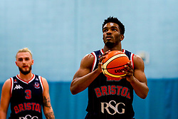 Marcus Delpeche of Bristol Flyers - Photo mandatory by-line: Robbie Stephenson/JMP - 10/04/2019 - BASKETBALL - UEL Sports Dock - London, England - London Lions v Bristol Flyers - British Basketball League Championship