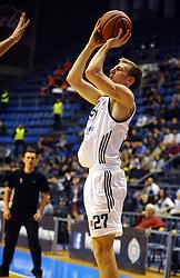 ADIN VRABAC, kosarkas Partizana, na utakmici protiv Tajfuna.<br /> Beograd, 20.11.2015.<br /> foto: Nebojsa Parausic<br /> <br /> Kosarka, Partizan, Tajfun, Jadranska ABA liga