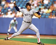 TORONTO - 1988: Bob Stanley of the Boston Red Sox pitches during an MLB game at Exhibition Stadium in Toronto, Ontario, Canada during the 1988 season.  *** Local Caption *** Bob Stanley