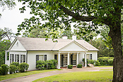 The vacation home of U.S. President Franklin Roosevelt known as the Little White House in Warm Springs, Georgia. FDR often vacationed at the home and died there while in office in 1945