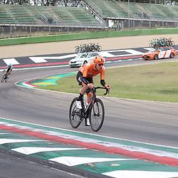 27-09-2020: wielrennen: WK weg mannen: Imola<br /> Dylan van Baarle27-09-2020: wielrennen: WK weg mannen: Imola