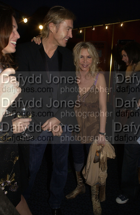 """Leslie Ash and Lee Chapman. The DVD Screening of """"The Who: Quadrophenia And Tommy Live"""" at the Curzon Mayfair on November 2, 2005 in London,. ONE TIME USE ONLY - DO NOT ARCHIVE © Copyright Photograph by Dafydd Jones 66 Stockwell Park Rd. London SW9 0DA Tel 020 7733 0108 www.dafjones.com"""