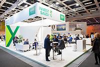 DEU, Deutschland, Germany, Berlin, 07.03.2019: Internationale Tourismus-Börse (ITB) auf dem Berliner Messegelände. Stand der saudi-arabischen General Investment Authority (SAGIA).