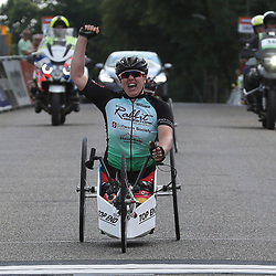 18-06-2017: Wielrennen: NK Paracycling: Montferlands-Heerenberg (NED) wielrennen  <br />Laura de Vaan ('sHertogenbosch) nam de titel over van Jenette Jansen