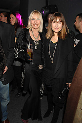Left to right, VIRGINIA BATES and her daughter DAISY BATES at a party to celebrate the launch of DKNY's new fragrance for women Delicious, held at The Serpentine Gallery, Kensington gardens, London on 12th December 2007.<br /><br />NON EXCLUSIVE - WORLD RIGHTS