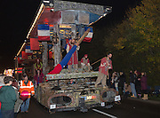 La Barricade by Gemini Carnival Club at Glastonbury and Chilkwell Guy Fawkes Carnival, 2013.