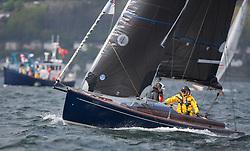 Pelle P Kip Regatta 2017 run by Royal Western Yacht Club at Kip Marina on the Clyde. <br /> <br /> Dayboat, Nora<br /> <br /> Image Credit Marc Turner