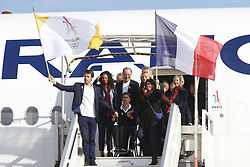 September 15, 2017 - Paris, France, France - Tony Estanguet - Anne Hidalgo - Laura Flessel - Valerie Pecresse (Credit Image: © Panoramic via ZUMA Press)