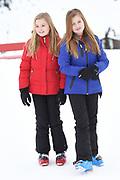 Fotosessie met de koninklijke familie in Lech /// Photoshoot with the Dutch royal family in Lech .<br /> <br /> Op de foto/ On the photo: Prinses Alexia en Prinses Ariane /////  Princess Alexia and Princess Ariane