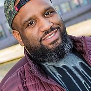 NLD/Hilversum//20170321 - Rappers Achter De Tralies, Willie Wartaal