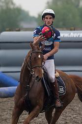 Augustyns Michael, BEL, Petite Biche, <br /> BK Horseball 2018<br /> © Sharon Vandeput<br /> 14:22:22