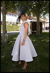 August 2, 2018 - Goodwood, United Kingdom - Image licensed to i-Images Picture Agency. 02/08/2018. Goodwood , United Kingdom. Racegoers arriving for Ladies Day at Glorious Goodwood , United Kingdom. (Credit Image: © Stephen Lock/i-Images via ZUMA Press)