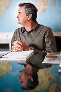 Belo Horizonte_MG, Brasil.<br /> <br /> Alvaro Andrade, empresario, acionista e conselheiro da Andrade Gutierrez, socio de Adauto Pinheiro diretor da Film Service empresa representante no Brasil da Konica, empresa que produz equipamentos para a area da imagem.<br /> <br /> Alvaro Andrade, entrepreneur, investor and advisor of Andrade Gutierrez, socio Adauto Pinheiro director of Film Service representative company in Brazil, Konica, the company that produces equipment for the area of the image.<br /> <br /> Foto: JOAO MARCOS ROSA / NITRO