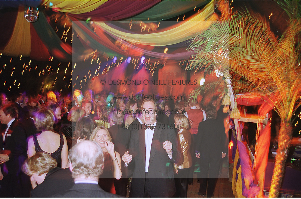 Guests dancing at a ball in London at a ball in London on 30th November 1998.<br /> MML 28