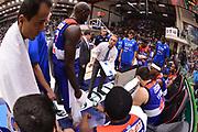 DESCRIZIONE : Campionato 2014/15 Dinamo Banco di Sardegna Sassari - Enel Brindisi<br /> GIOCATORE : Piero Bucchi<br /> CATEGORIA : Time Out Allenatore Coach<br /> SQUADRA : Enel Brindisi<br /> EVENTO : LegaBasket Serie A Beko 2014/2015<br /> GARA : Dinamo Banco di Sardegna Sassari - Enel Brindisi<br /> DATA : 27/10/2014<br /> SPORT : Pallacanestro <br /> AUTORE : Agenzia Ciamillo-Castoria / Luigi Canu<br /> Galleria : LegaBasket Serie A Beko 2014/2015<br /> Fotonotizia : Campionato 2014/15 Dinamo Banco di Sardegna Sassari - Enel Brindisi<br /> Predefinita :
