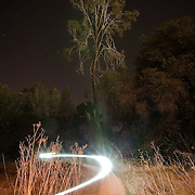 Night Bike Ride along Lake Natoma/Willow Creek State Rec Area, CA