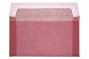 pink letter envelope