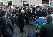 I funerali di Antonio Megaliti TRENTO 20-12-2018