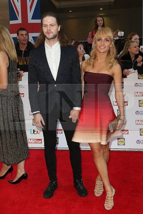 Jay McGuiness, Aliona Vilani, Pride of Britain Awards, Grosvenor House Hotel, London UK. 28 September, Photo by Richard Goldschmidt /LNP © London News Pictures