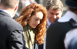 © Licensed to London News Pictures. 12/06/2012. London,Britain. Rebekah Brooks arrives at the Westminster Magistrates Courts. Photo credit : Thomas Campean/LNP.