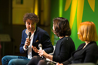 DEU, Deutschland, Germany, Berlin, 23.11.2018: Jesse Klaver, Party Leader of Groen Links (Netherlands). Council of the European Green Party (EGP council) at Deutsche Telekom Representative Office.