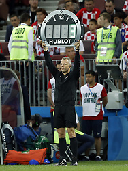 assistant referee Bjorn Kuipers during the 2018 FIFA World Cup Russia Semi Final match between Croatia and England at the Luzhniki Stadium on July 01, 2018 in Moscow, Russia