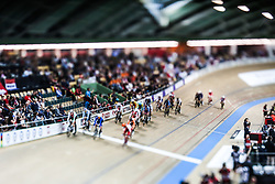 March 2, 2019 - Pruszkow, Poland - Men's omnium race on day four of the UCI Track Cycling World Championships held in the BGZ BNP Paribas Velodrome Arena on March 02 2019 in Pruszkow, Poland. (Credit Image: © Foto Olimpik/NurPhoto via ZUMA Press)