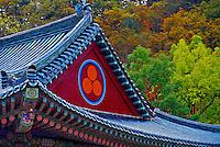 Woljongsa Temple, Mt. Odeasan National Park, South Korea
